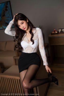[语画界XIAOYU] Vol.048 @杨晨晨sugar-灵动销魂的黑丝美腿魅惑